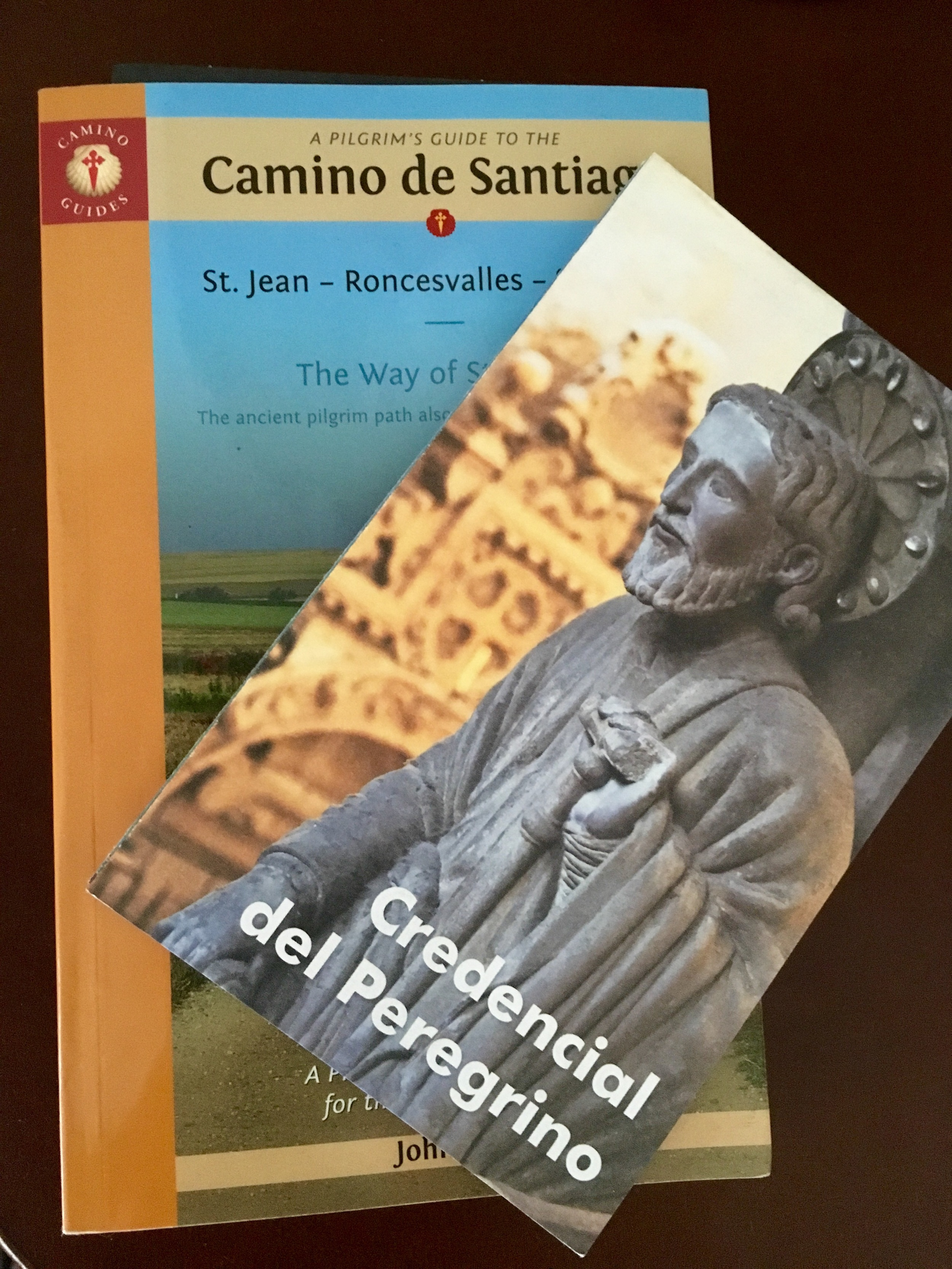 Guide book and pilgrim passport