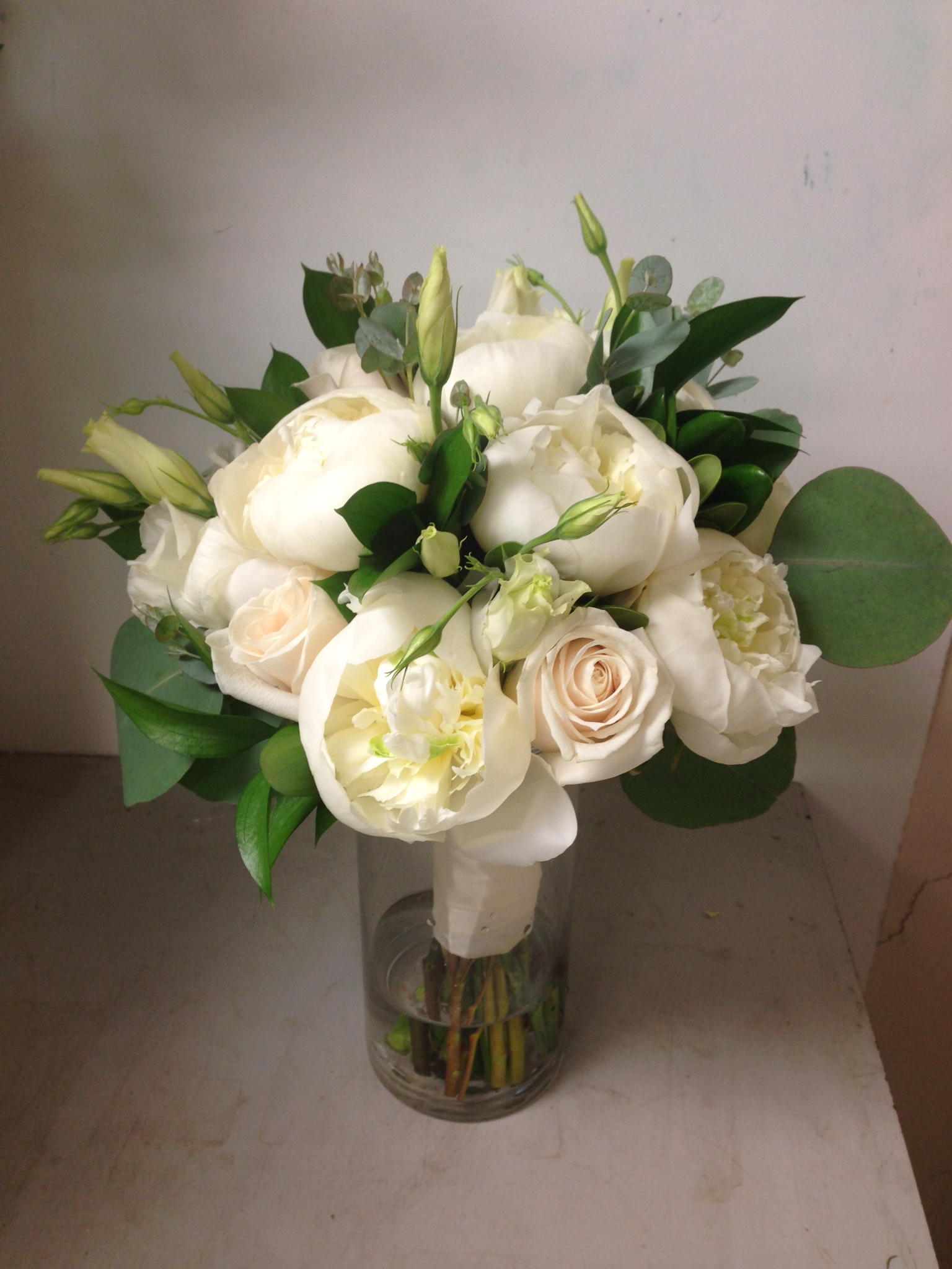Bridal bouquet by The Exotic Green Garden