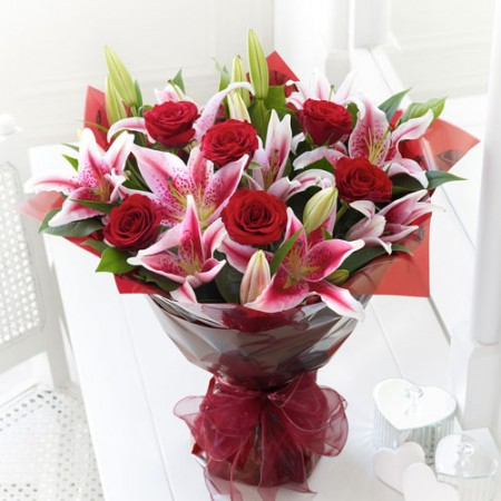 Stargazers and roses