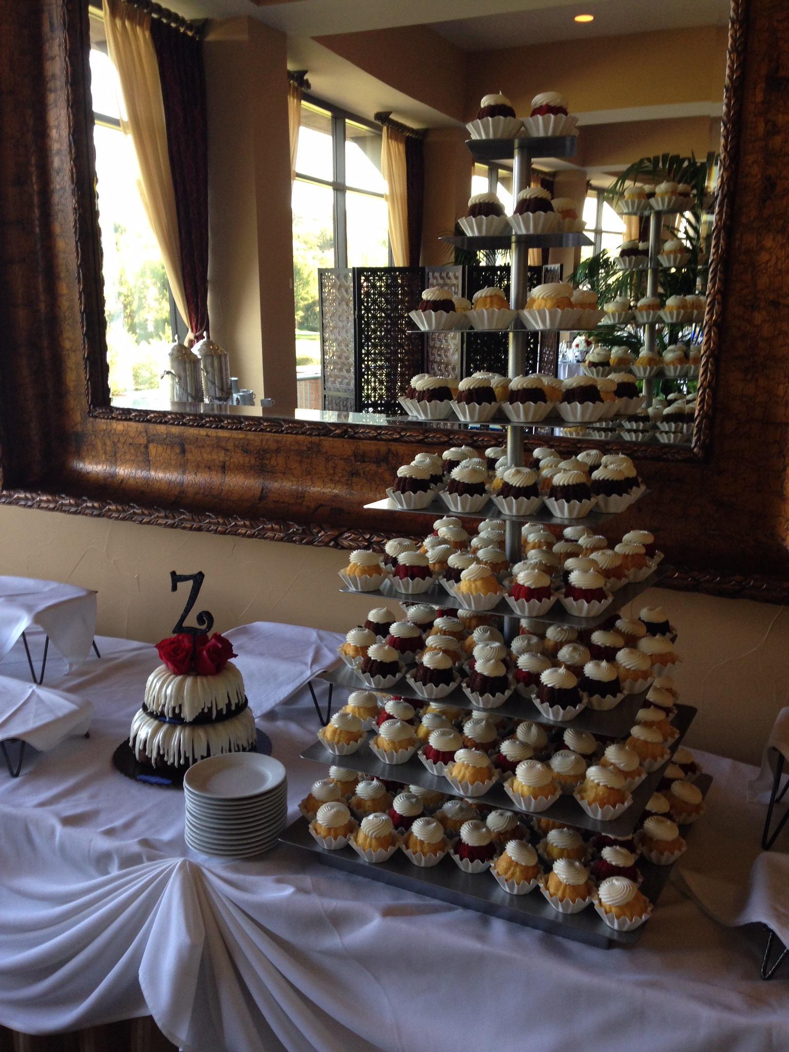 Large Cupcake Tower -- $75