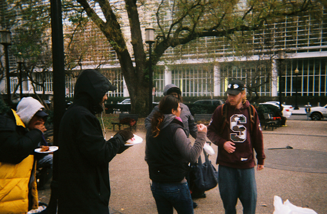 Fellowship With The People / Getting To Know The People Of The Streets