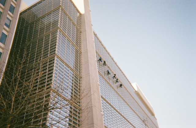 Window Washers at the World Bank