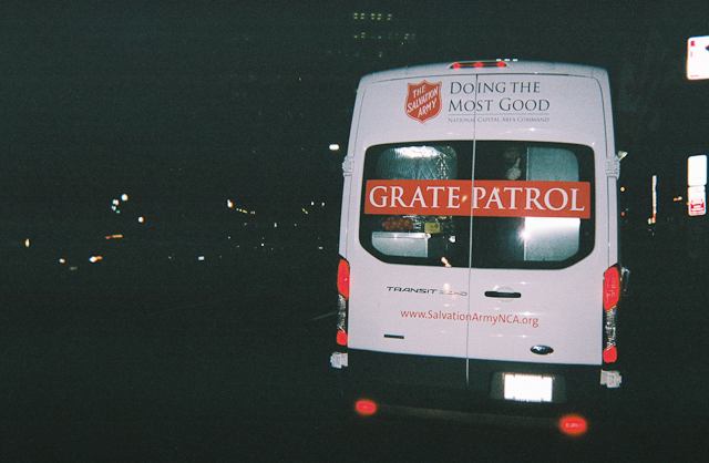 Salvation Army Grate Patrol / Ministering to the homeless
