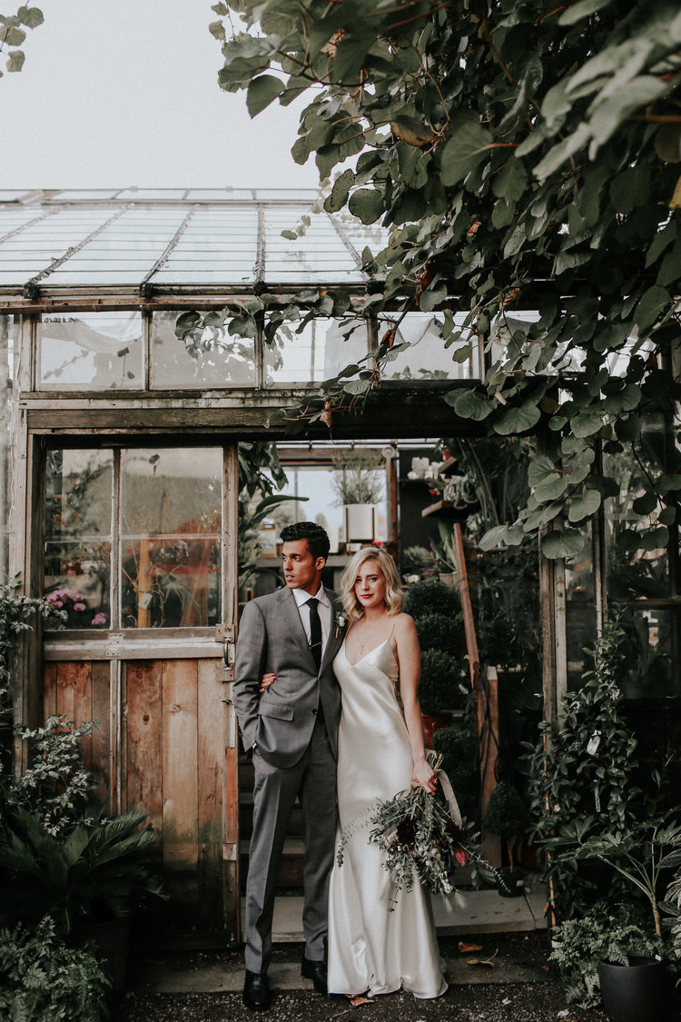 JOSH + JORDAN - PORTLAND WAREHOUSE WEDDING
