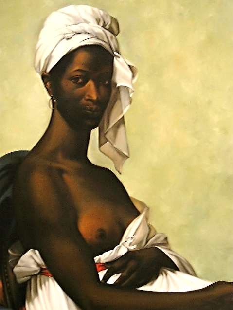 Portrait d'une Negress by Marie-Guillamine Benoist