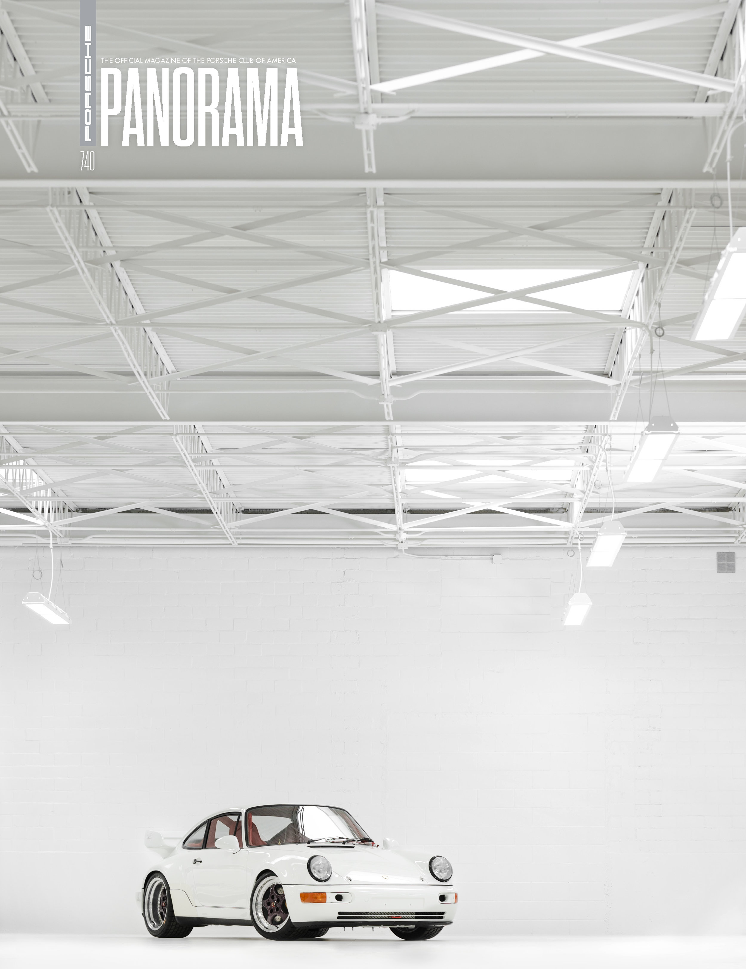 Porsche Panorama Magazine - The White Collection - Full article and more