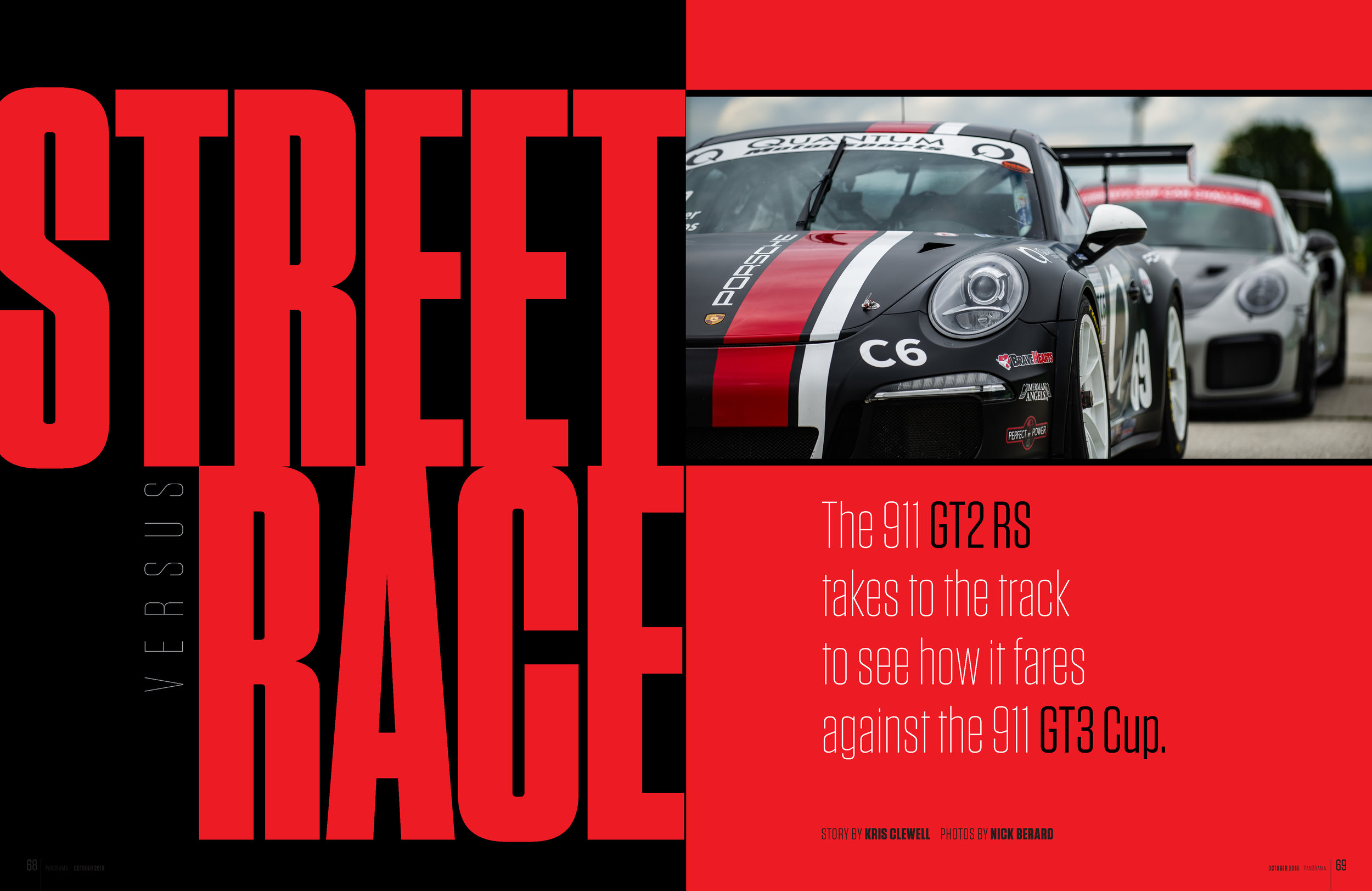 Porsche Panorama - Street vs Race - Full article and more images