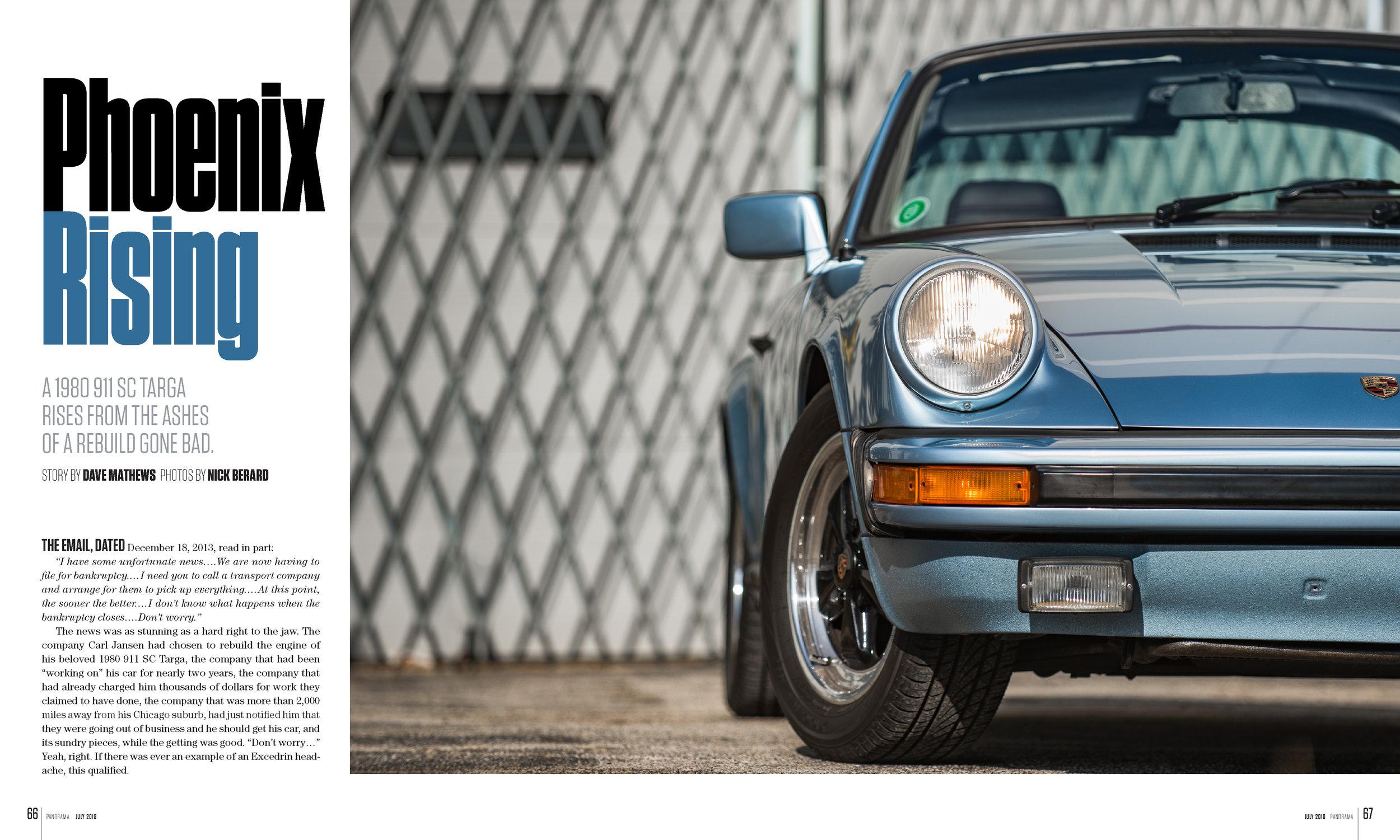 Porsche Panorama - Phoenix Rising - FULL ARTICLE