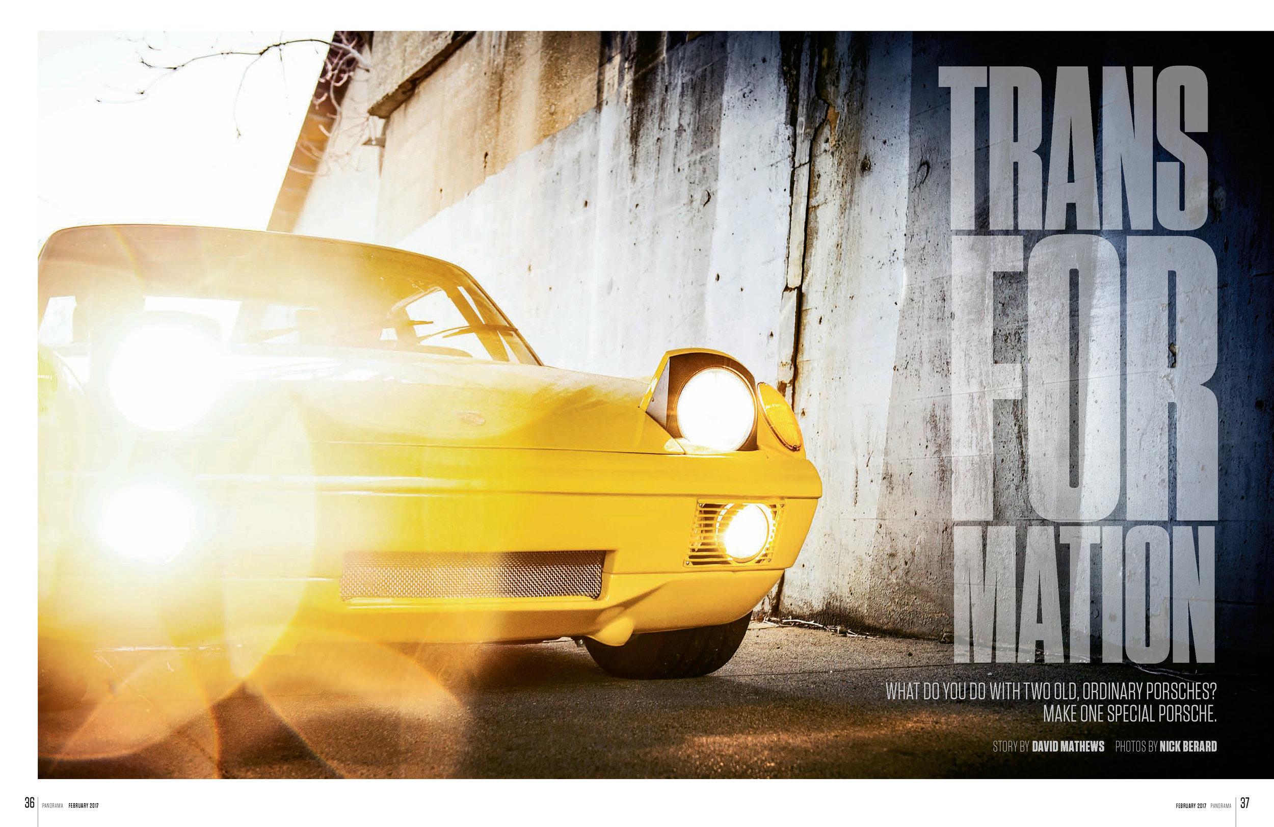 Porsche Panorama - Transformation - FULL ARTICLE
