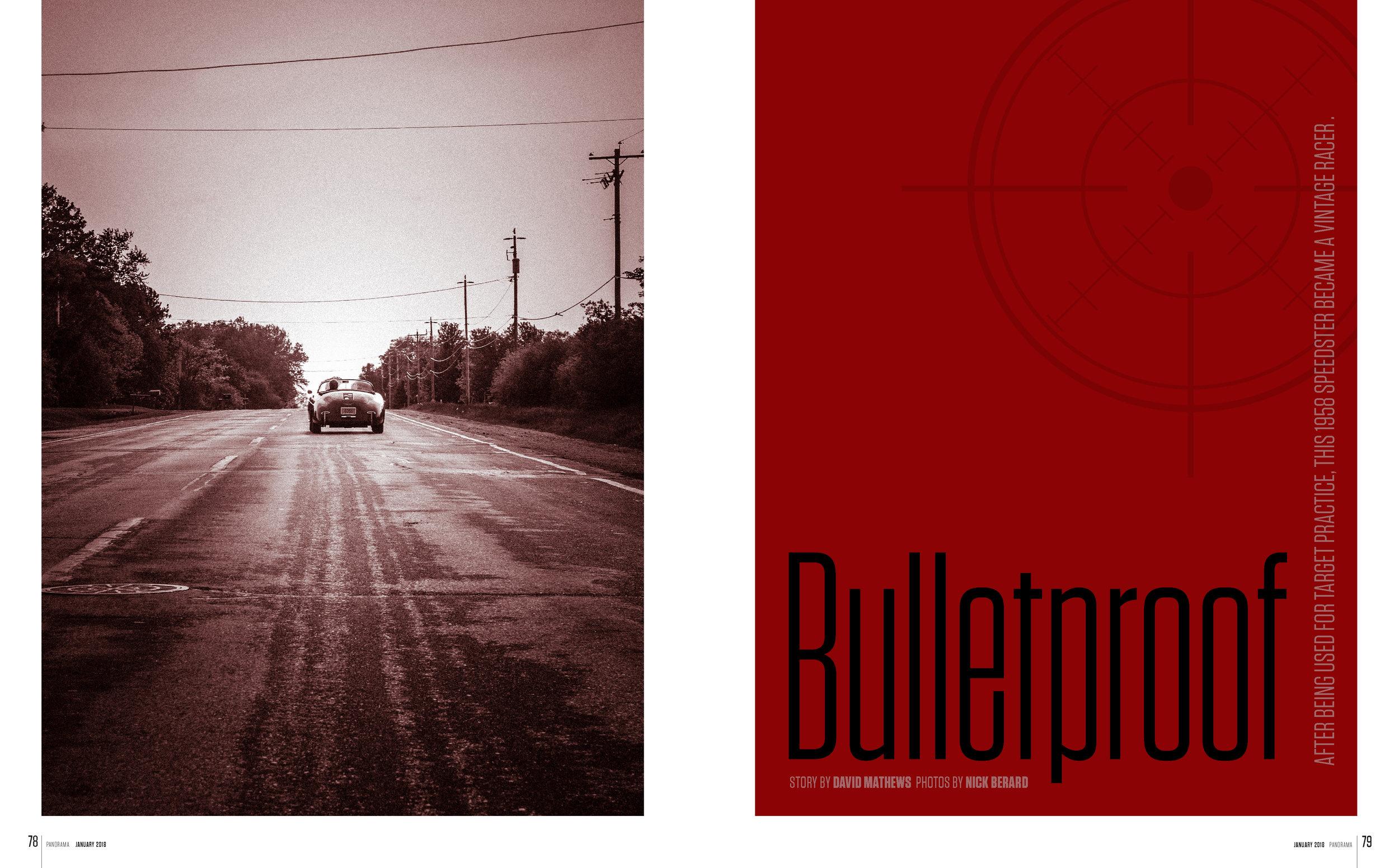 Porsche Panorama - Bullet Proof - FULL ARTICLE