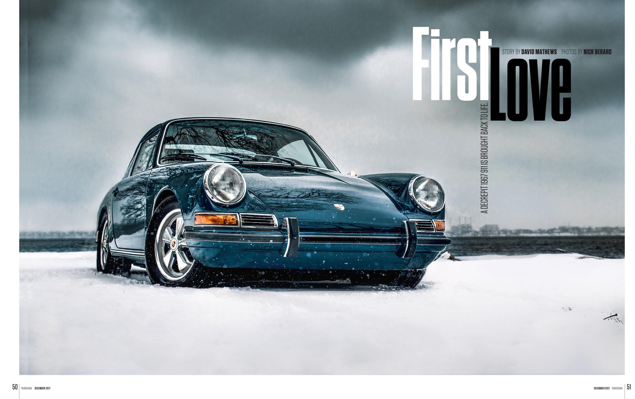Porsche Panorama - First Love - FULL ARTICLE