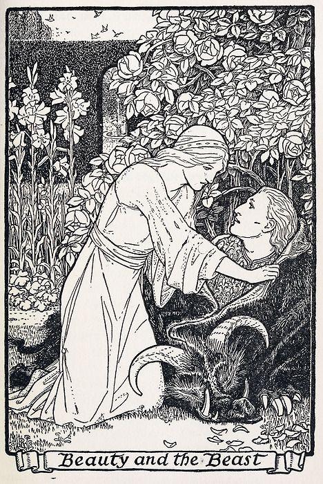 Illustration by  John Batten for   European Folk and Fairy Tales,  New York: G. P. Putnam's Sons, 1916