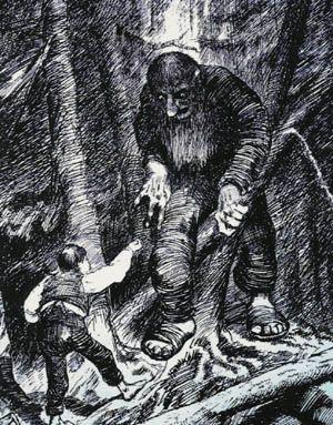 Illustration by  Kittelsen