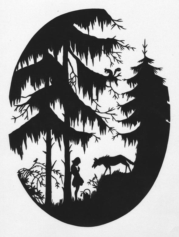 Papercut by Richard D. Sheaff