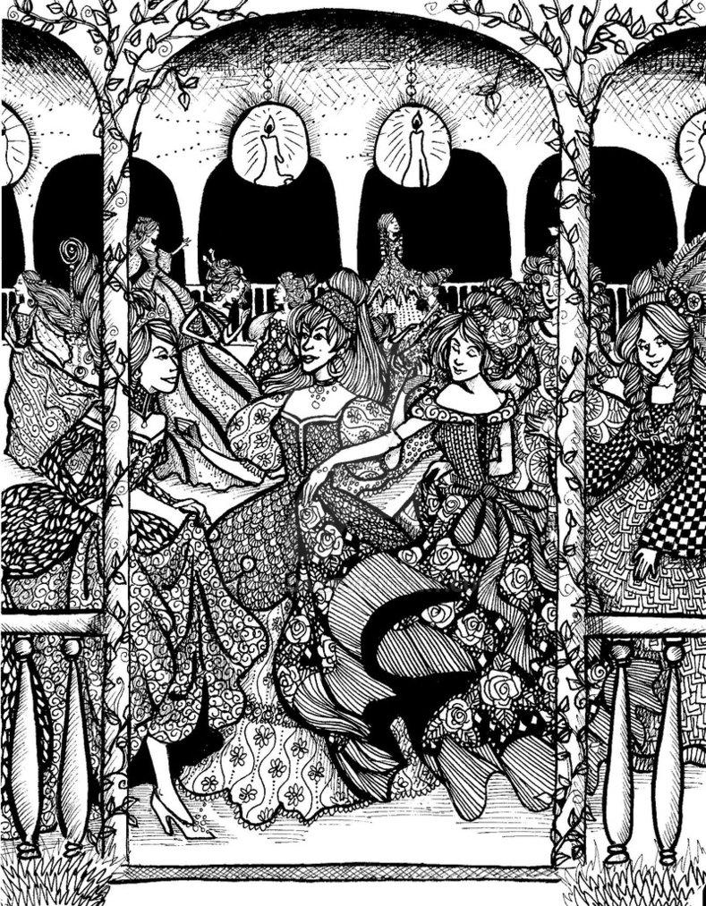 Illustration by  Ithelda