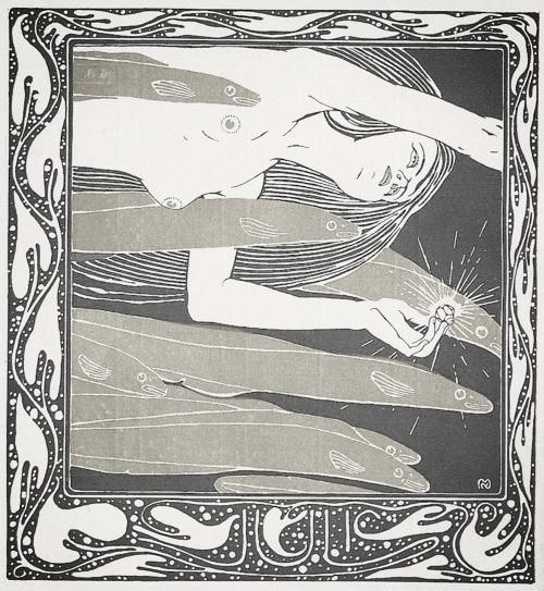illustration by  Koloman Moser