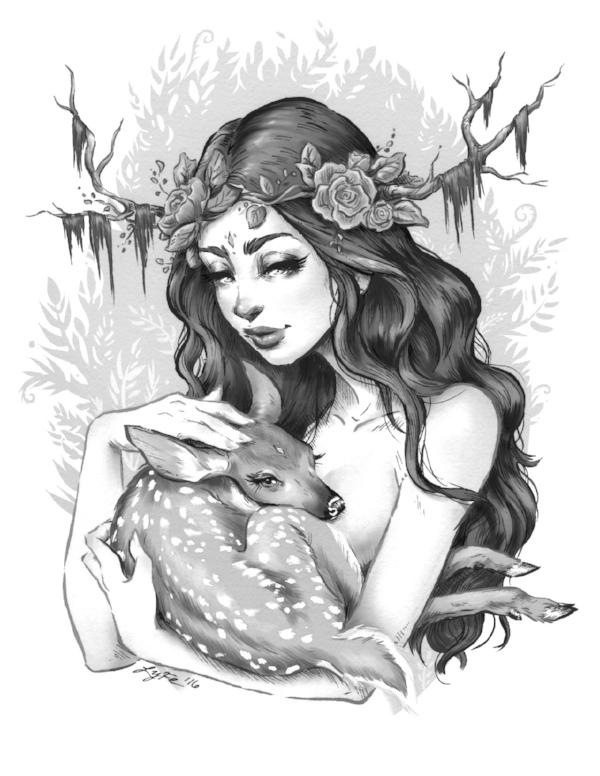 Artwork by Lyfe Illustration