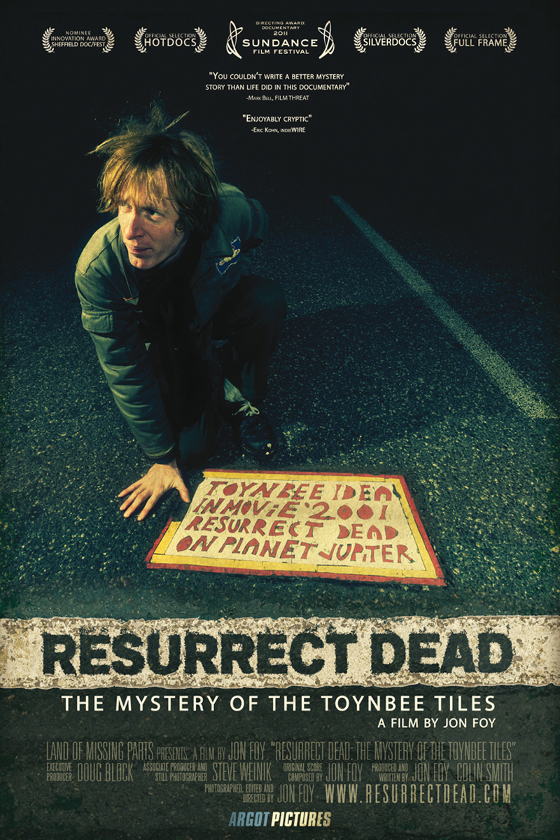 Resurrect Dead: The Mystery Of The Toynbee Tiles (DVD)