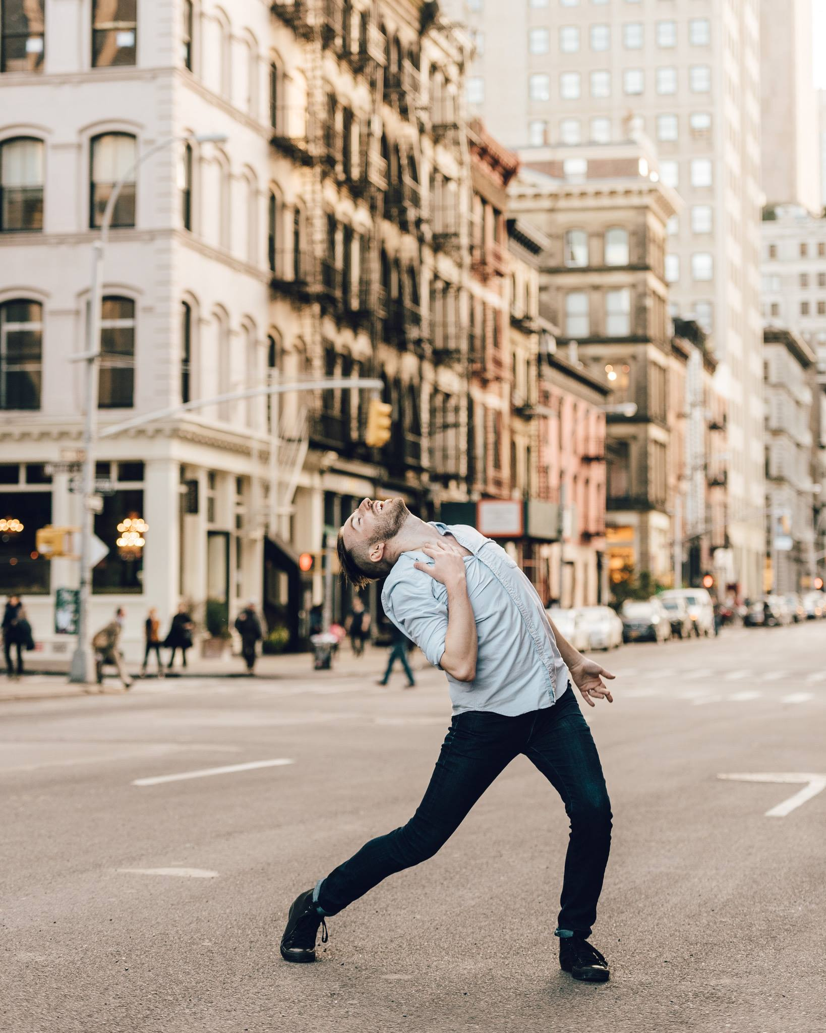 Billy Griffin - Dancers of New York - James Jin Images