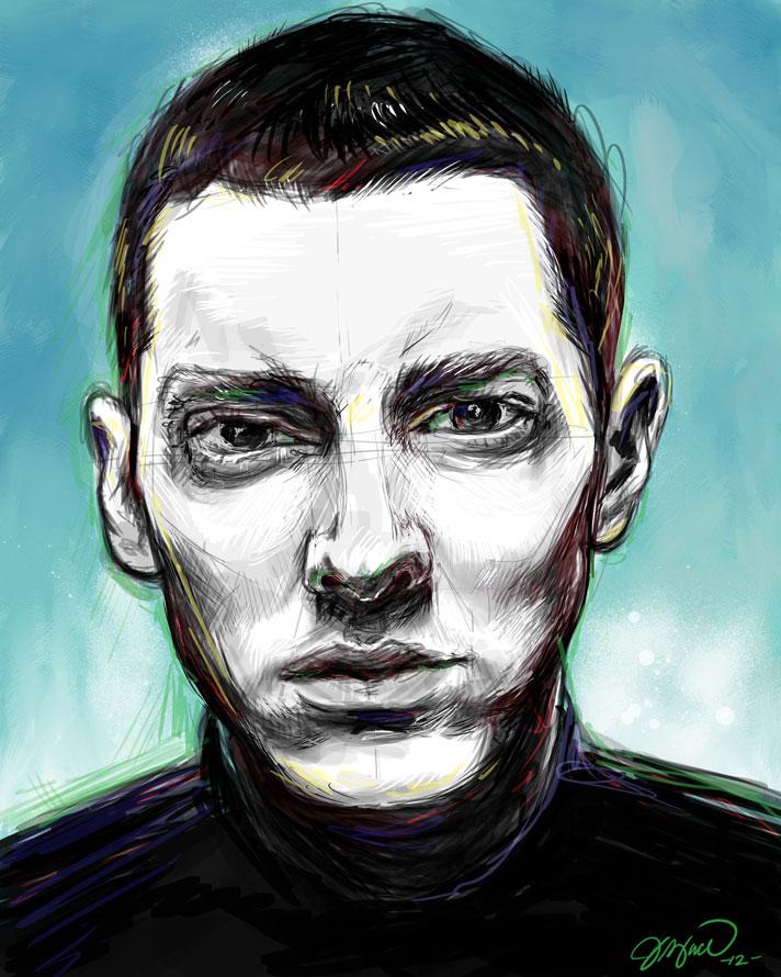 Eminem, 2012, Digital Painting