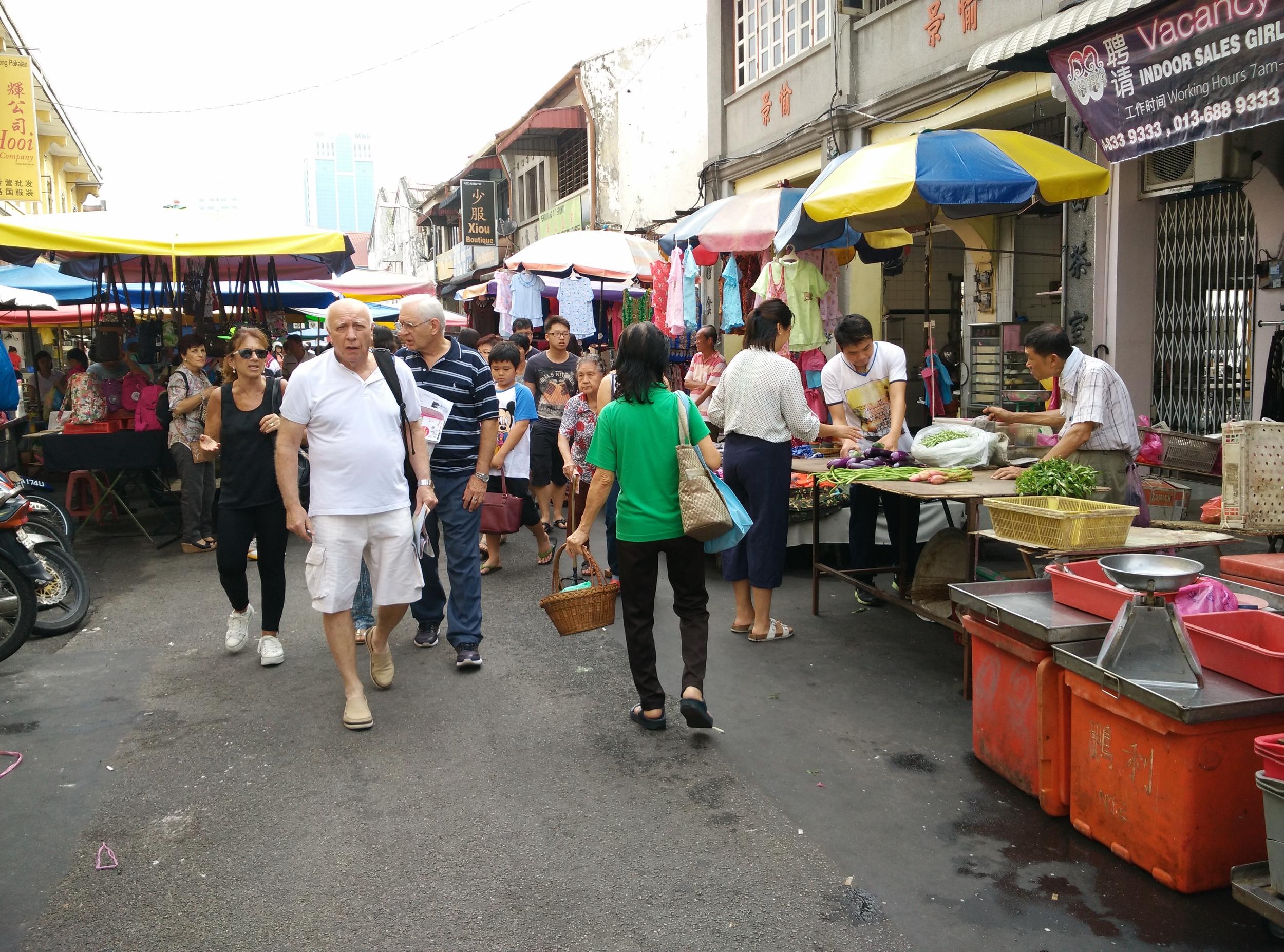 Chowrasta market