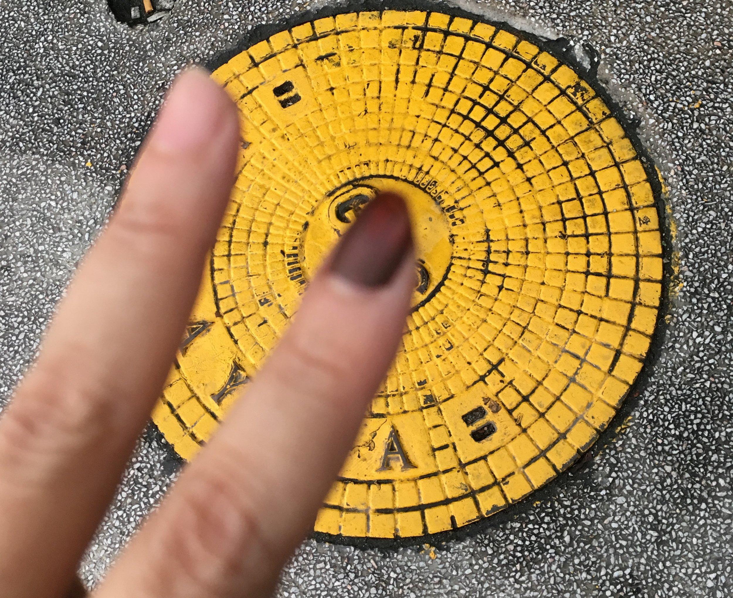 Post GE14 nail polish.