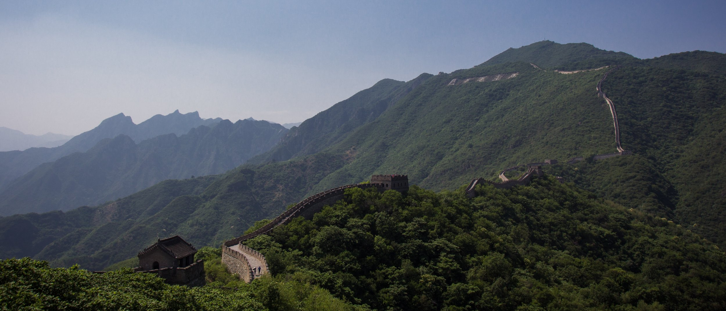 """Wow,"" I thought as I stood and watched the Great Wall of China. ""Some of my ancestors may have died here."" Yeah, I'm morbid by nature. Photo by  Tony Bertolino ."