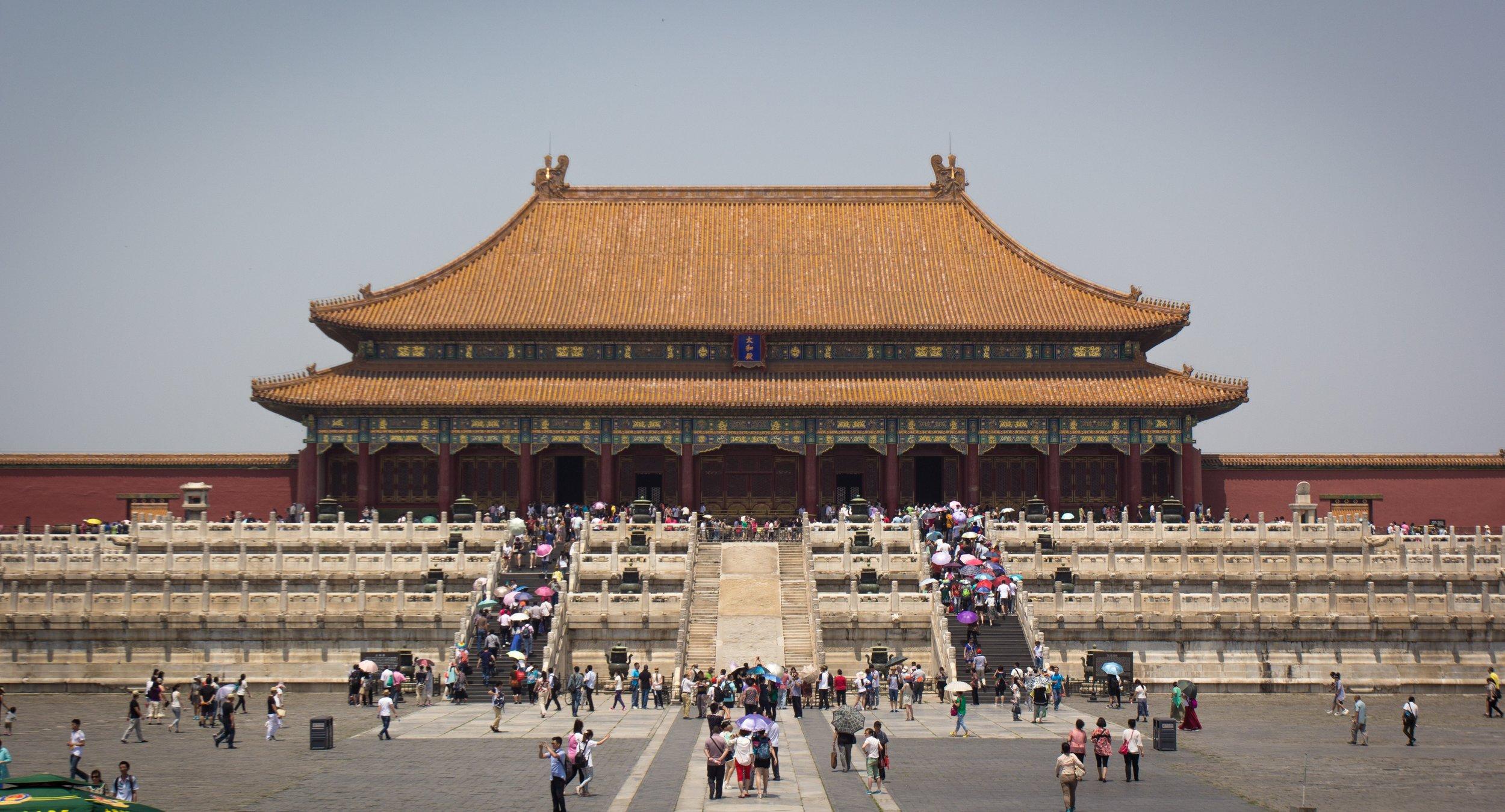 The Forbidden City by Tony Bertolino.