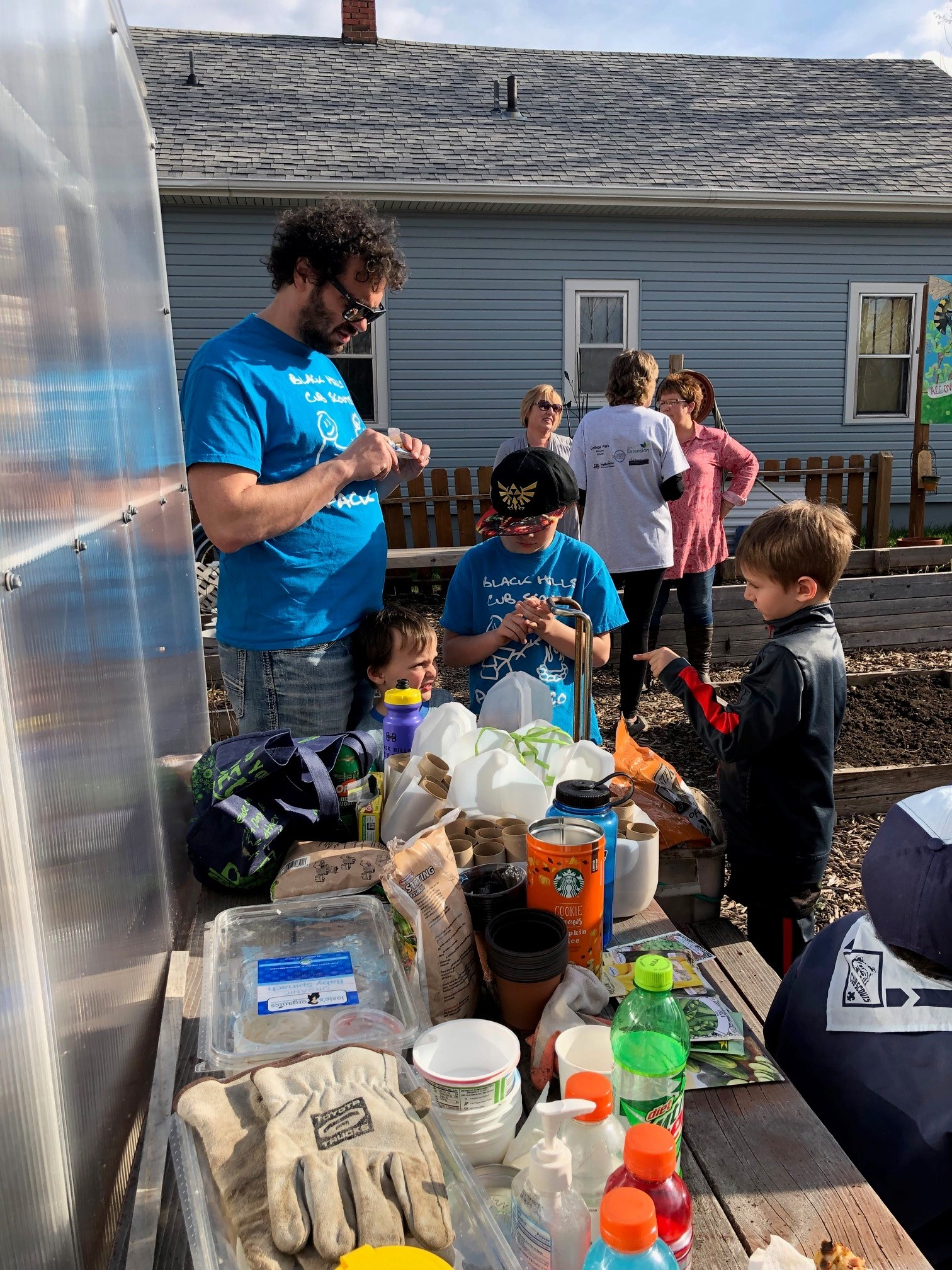 Lemmon Avenue Community Garden Open House April 22, 2019
