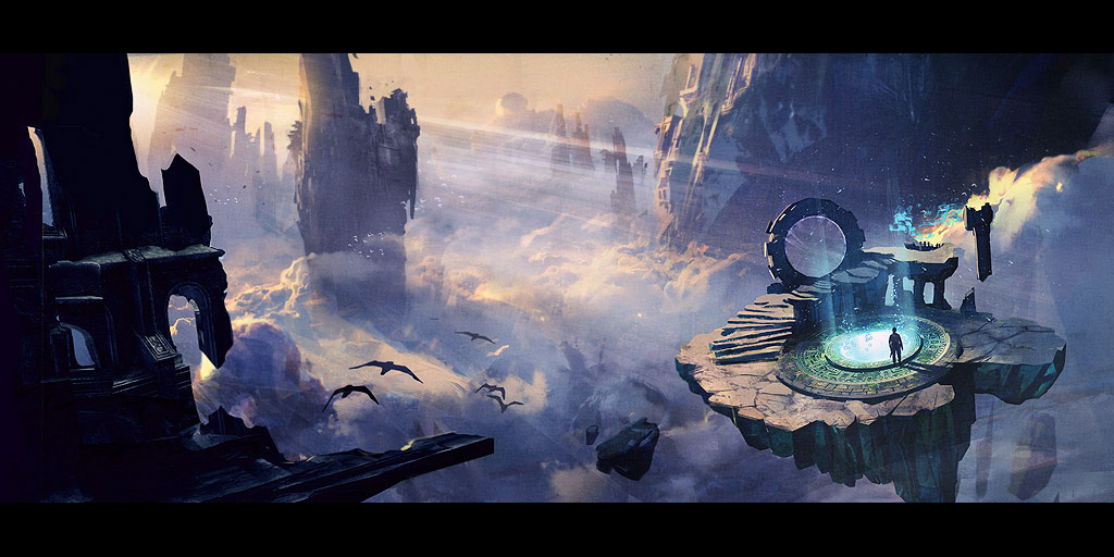 Fractals of the Mists Loadscreen Art