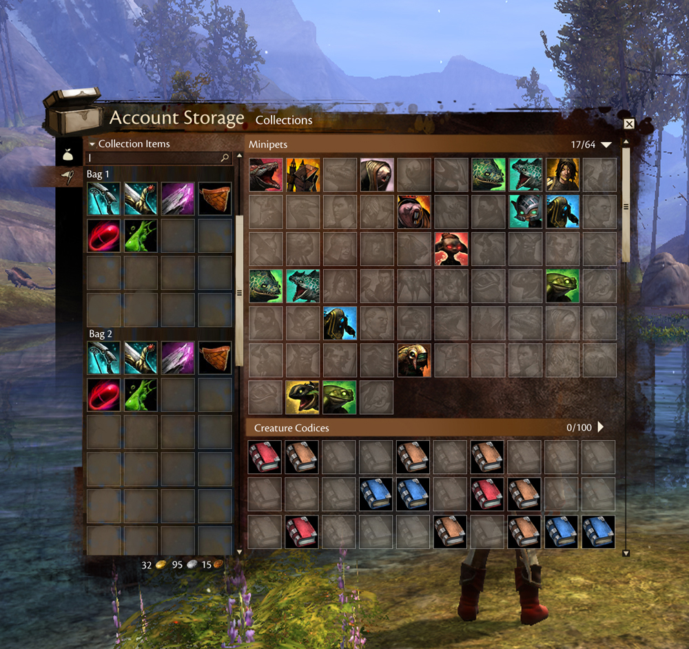 Account Storage/ Collections