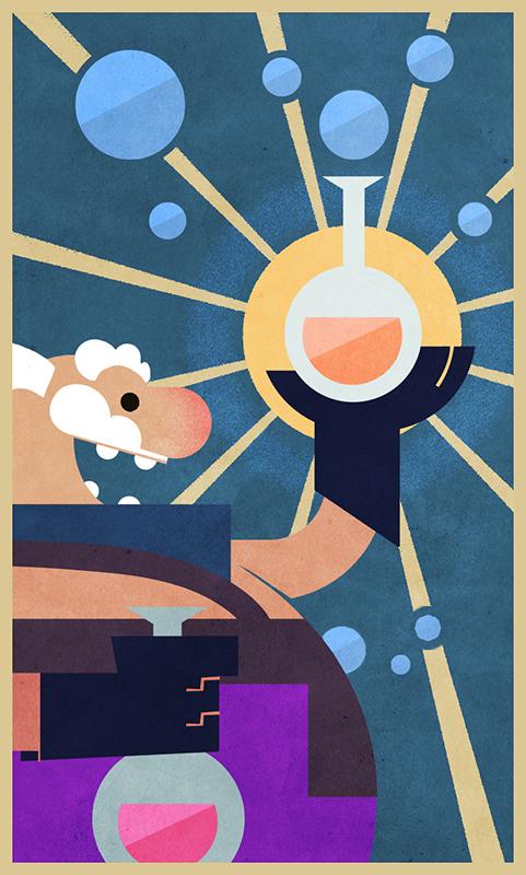 Alchemist (Based on sketch by Amin Fara)