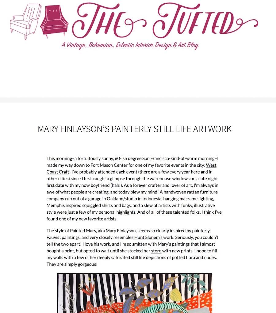 thetufted.com/2017/06/11/mary-finlaysons-painterly-still-life-artwork/