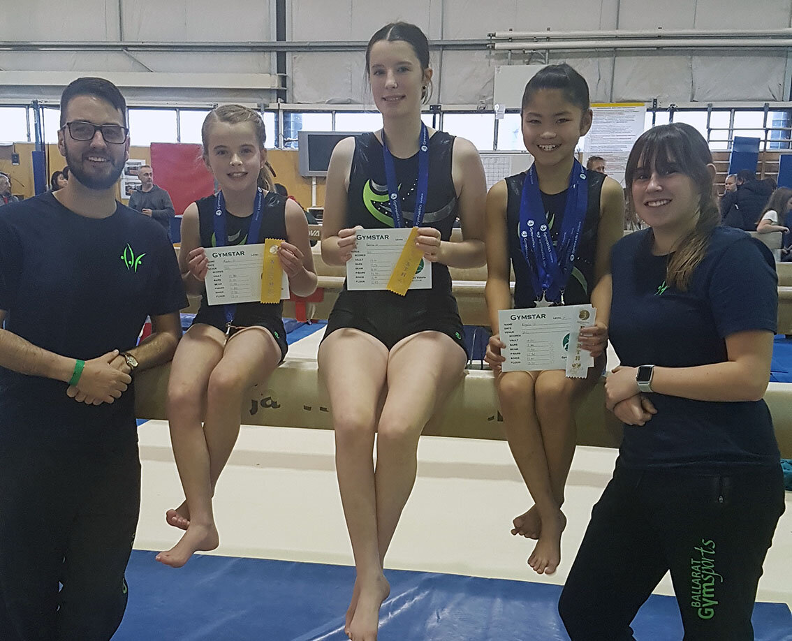 Another awesome comp for the girls and coaches at the State Gymnastics Centre.