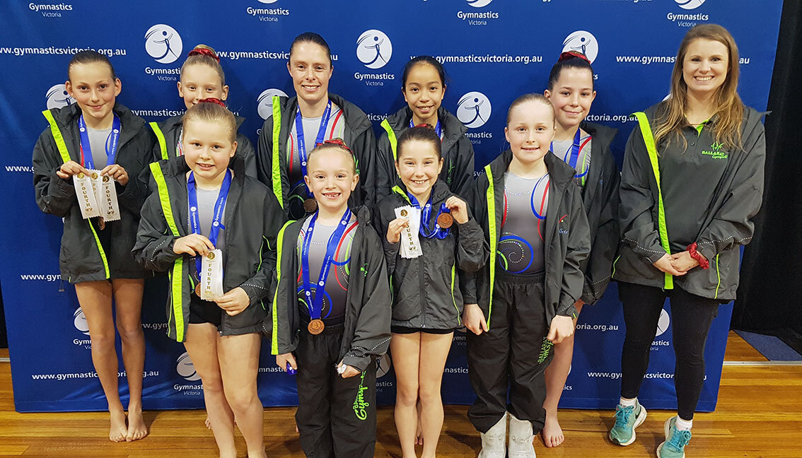 Our Level 2 Open team at this year's Victorian Championships - great work team!