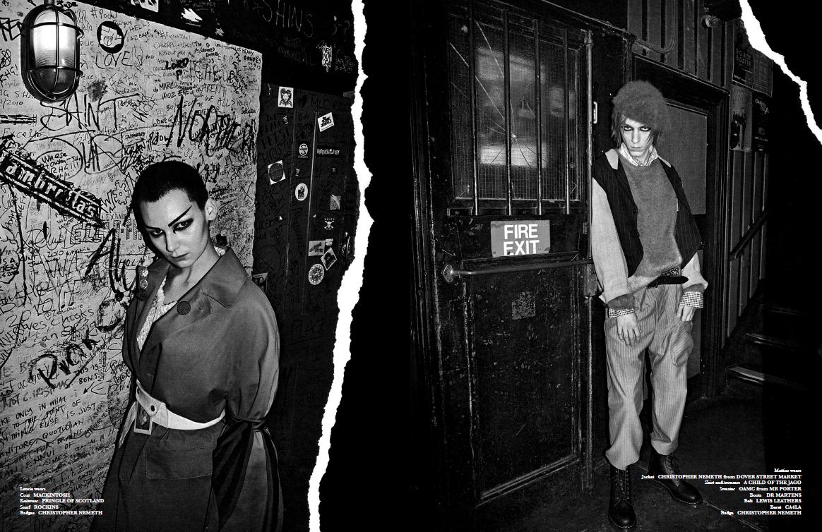Foxes Magazine. Fashion Ed: Mark Anthony Bradley