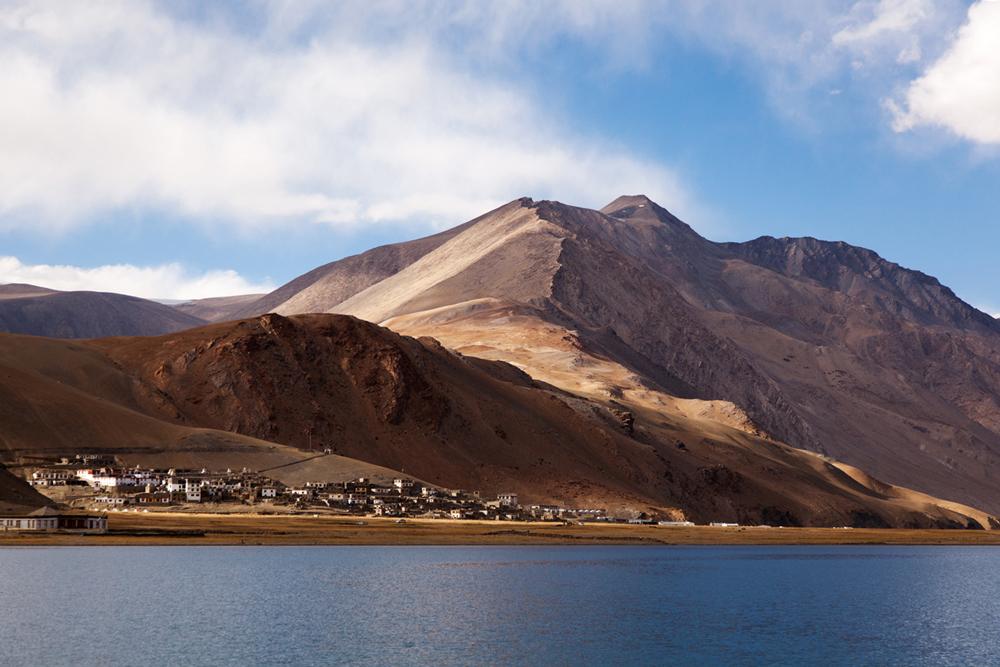 Korzok is the highest village in India
