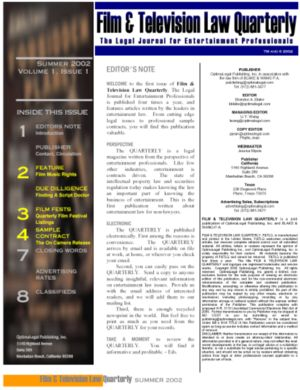 Film & Television Quarterly