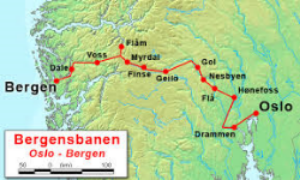Oslo-Bergen Train overview from EnjoyVacationing.com