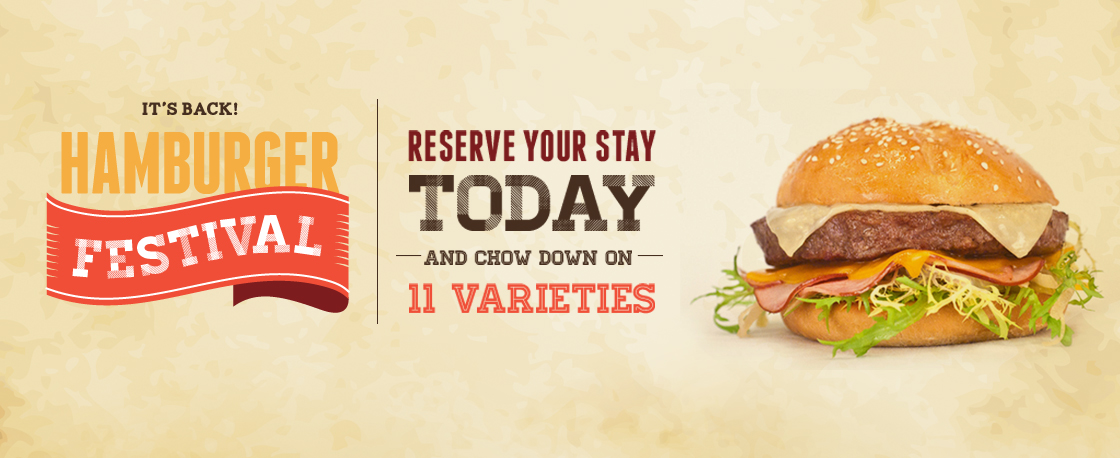 Hamburger festival at all inclusive resort - ask info@enjoyvacationing.com for more info!