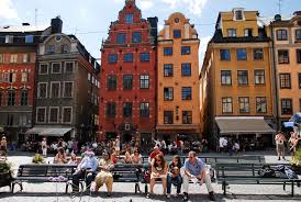 Gamla Stan or Old Town is a beautiful part of Stockholm, Sweden