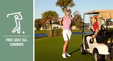Free Golf All Summer Long at Club Med Sandpiper Bay through EnjoyVacationing.com