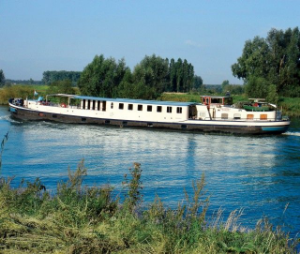 Active River Cruising in Europe from Enjoy Vacationing.com. Photo is of a Bike and Barge tour