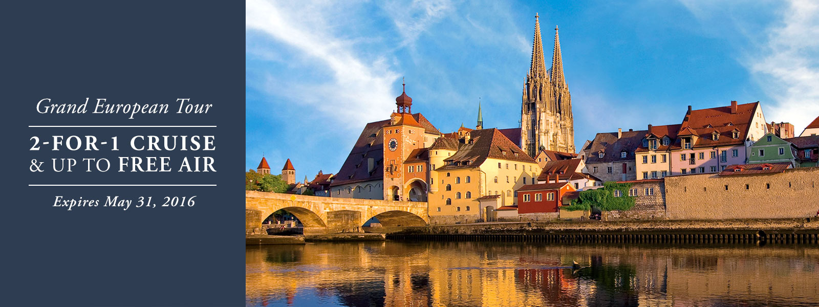 Viking River cruises offer 2 for 1 cruises and up to free air for 2017 River Cruises. From EnjoyVacationing.com