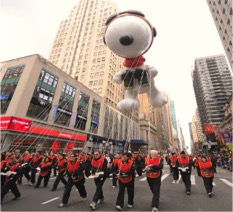 Macy's Thanksgiving Day Parade packages available through Enjoy Vacationing!