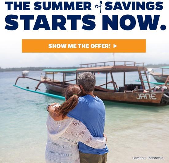Azamara Summer of Savings Event Starts Now