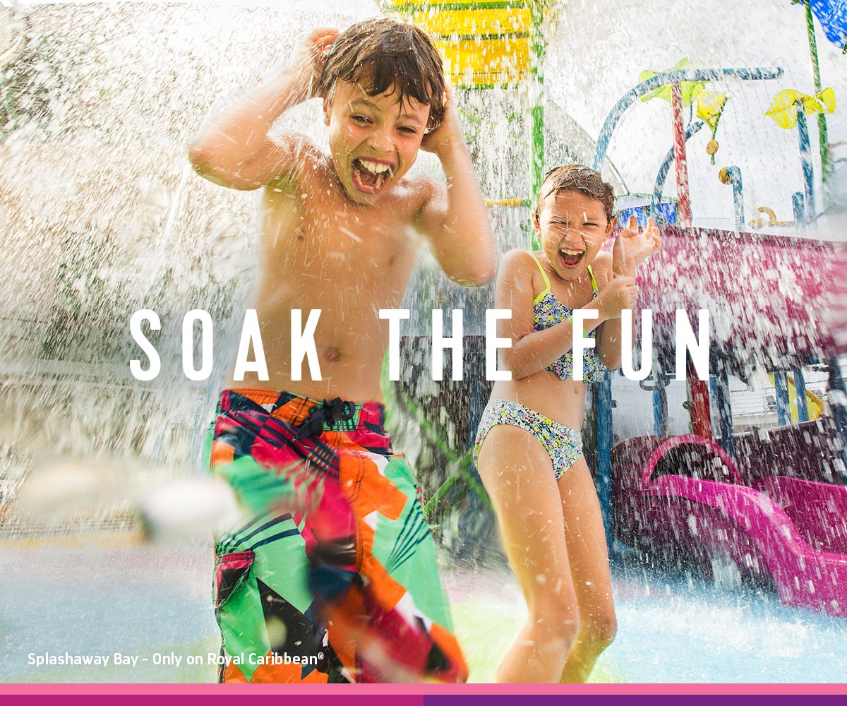 Soak the Fun Sale from Royal Caribbean Cruise Line and Enjoy Vacationing Travel Agency
