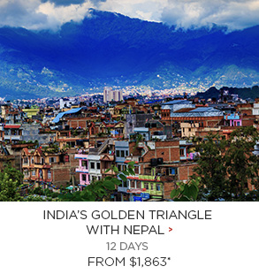 India's Golden Triangle with Nepal - 12 Days from $1,863 per person