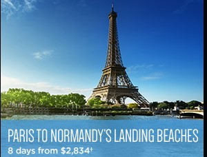 Paris to Normandy - 8 days from $2,834 per person - Avalon Fall Sale on Now