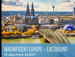Avalon Fall Sale on Now - Magnificent Europe starting at $3,697 - 15 days